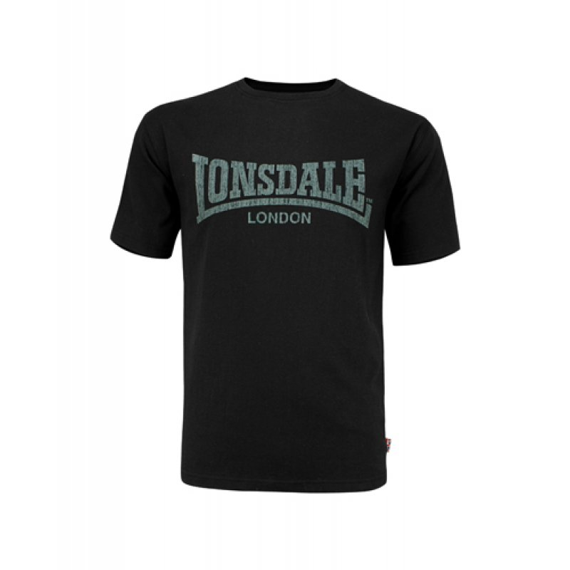 lonsdale t shirt logo kai schwarz 14 90. Black Bedroom Furniture Sets. Home Design Ideas