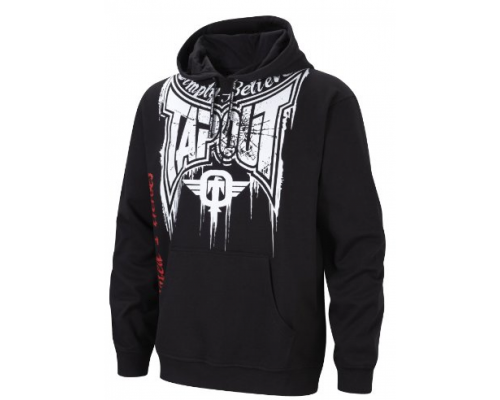 Tapout Train harder Hoodie - schwarz