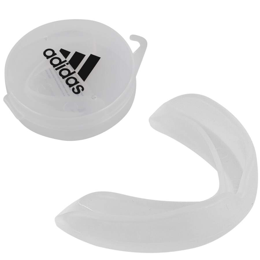 Adidas Zahnschutz single Transparent Senior