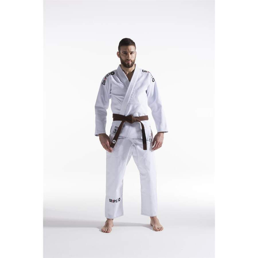 Grips Gi Kimono Secret Weapon Evo- weiss