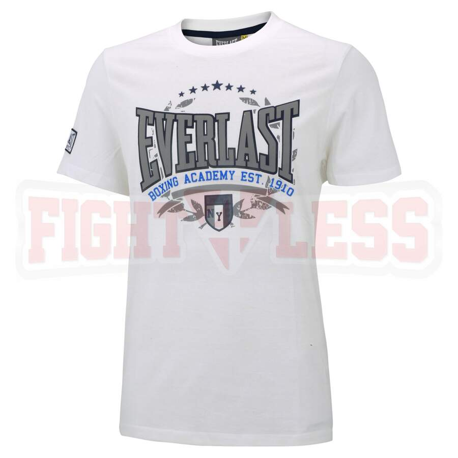 Everlast T-Shirt Boxing Academy M weiss