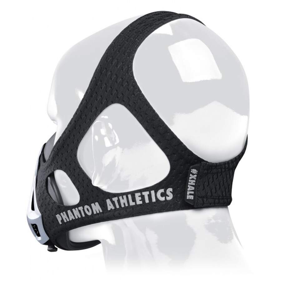 Phantom Trainings-Maske silber L
