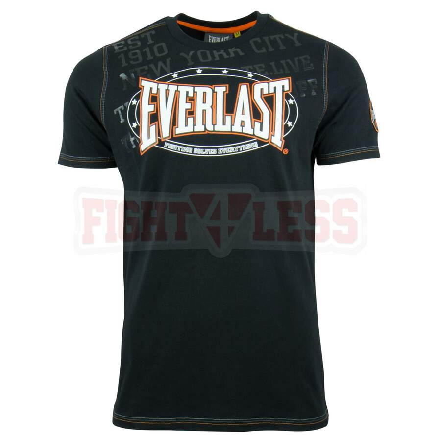 Everlast T-Shirt Premium Sports jet schwarz S