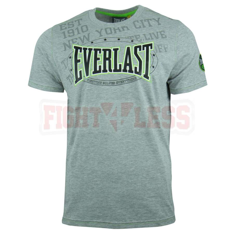 Everlast T-Shirt Premium Sports grau marl XL