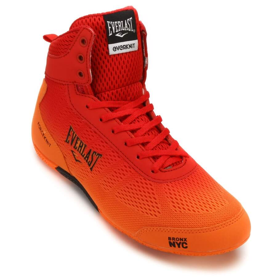 Everlast Boxschuhe Force Knit rot/orange 46 (12)
