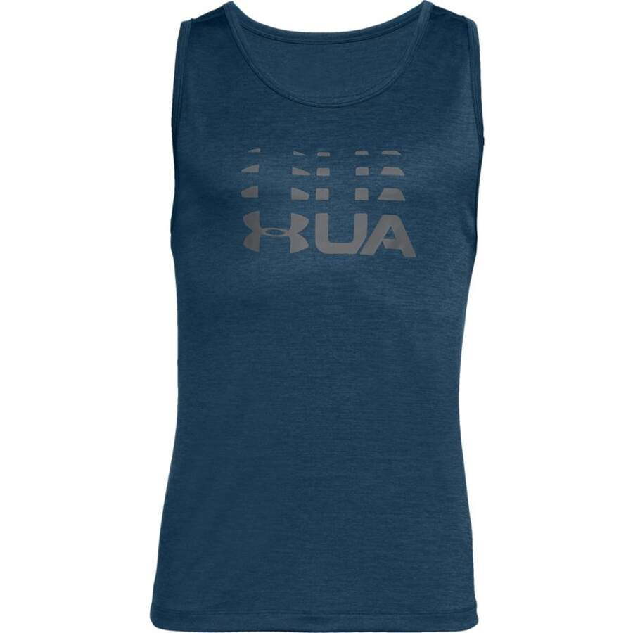 Under Armour Tank Top Left Chest dunkelblau (489) XXL