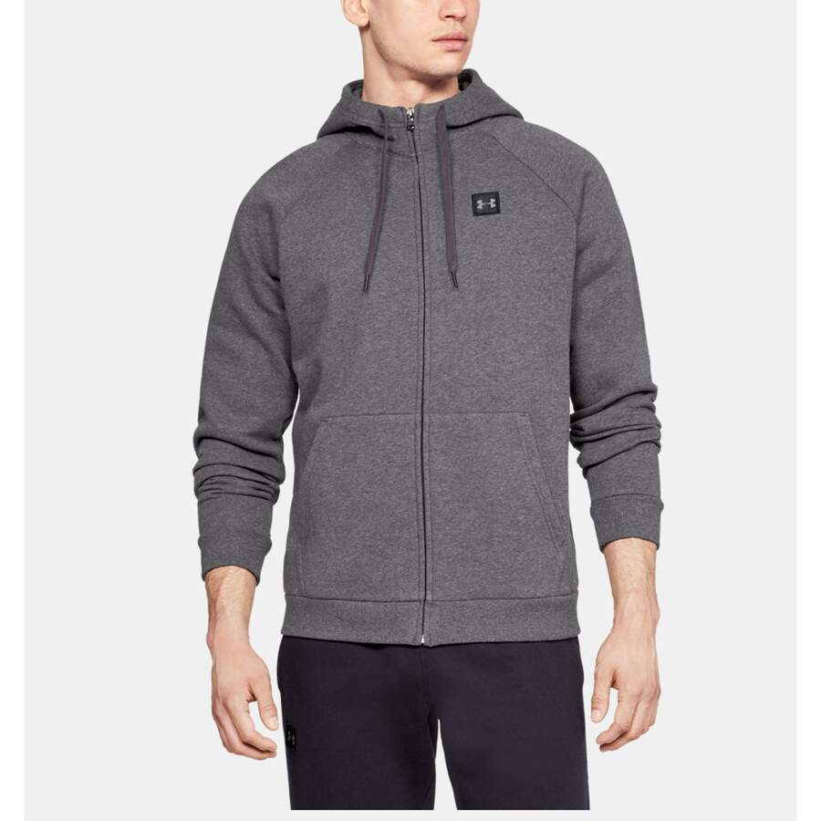 Under Armour Hoodie Rival Fleece FZ dunkelgrau XXL
