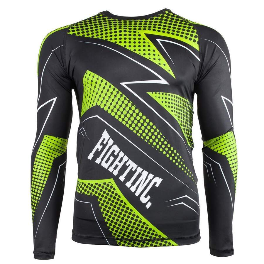 Fightinc. Rashguard Plasma Green