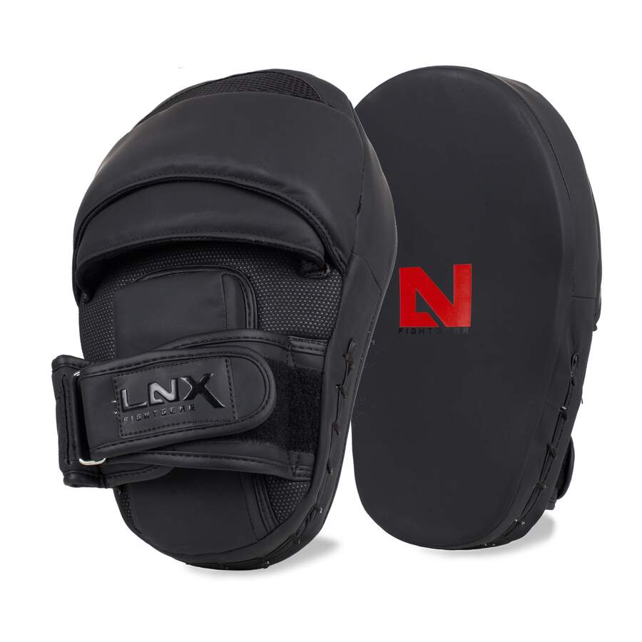 LNX Handpratzen Performance Pro Ultimatte Black - curved