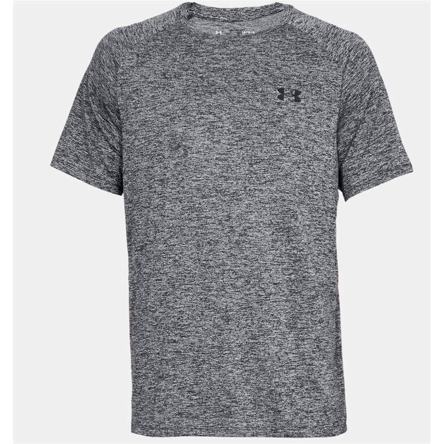 Under Armour T Shirt Tech 2.0 schwarz melange (003) M